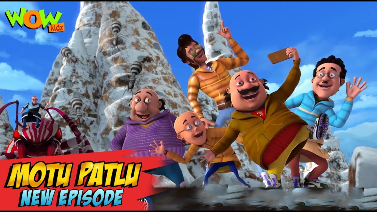 Download Motu Patlu New Episodes 2021 | Zebba Ants | Funny Stories | Wow Kidz