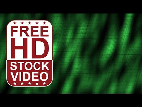 FREE HD video backgrounds – abstract animated blured green light dots pulsing 2D animation