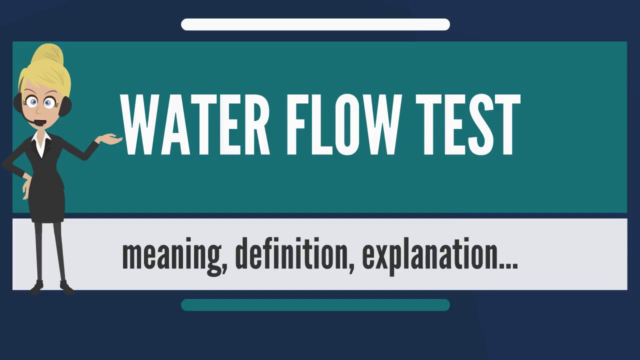 Why does water flow