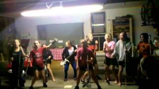 Winslow girls travel soccer - singing