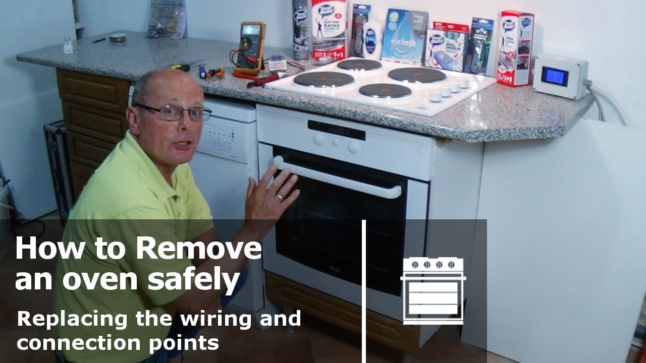 How to remove the stove at 2114 54