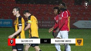 Salford City 1-1 Maidstone United   FA Trophy Third Round 05/02/18