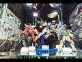 Entering the Gundam Zone Tokyo Japan!