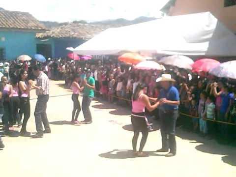 Baile del alcalde de Belén Gualcho Ocotepeque.