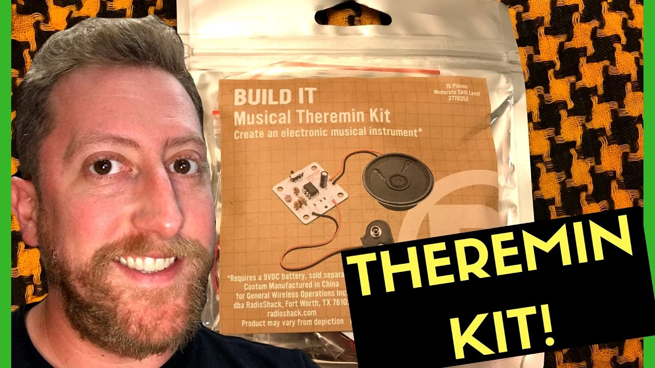 Soldering Live Radio Shack Musical Theremin Kit Youtube Idctheremin Schematic Diagram