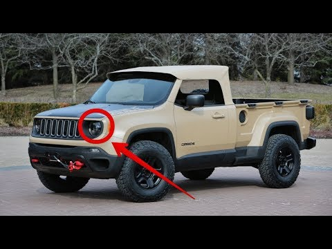 amazing must watch new 2018 jeep wrangler pickup truck specs and price youtube. Black Bedroom Furniture Sets. Home Design Ideas
