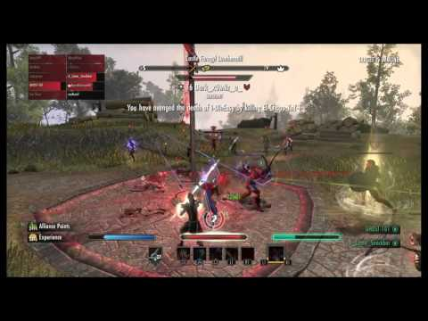 The Elder Scrolls Online: Magic Nightblade Pvp Montage. Tbagging the Tbaggers