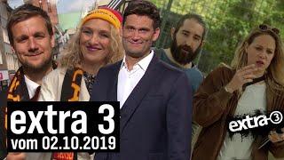 Extra 3 vom 02.10.2019