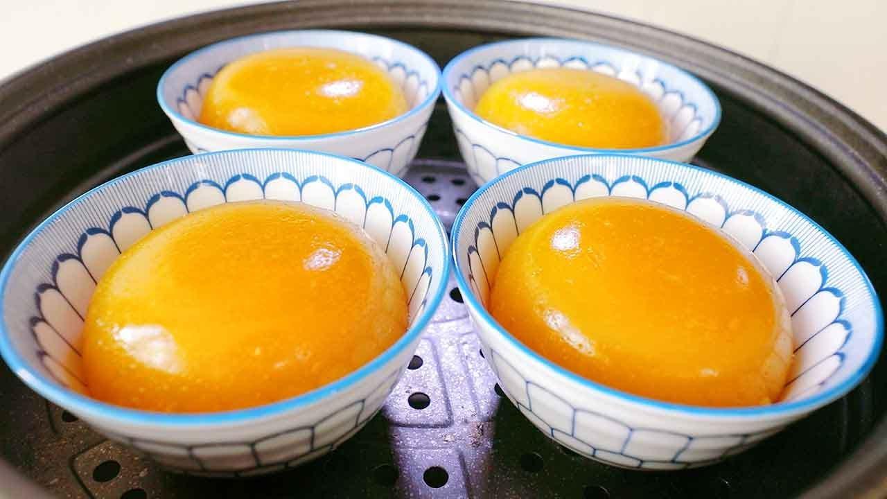 教你用南瓜做冰糕吃,大锅一蒸,冰冰凉凉,吃完一碗又一碗!【阿胖面食】