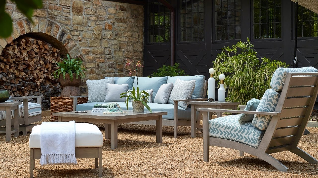 Exclusive Sunbrella Performance Fabrics At Summer Clics Home