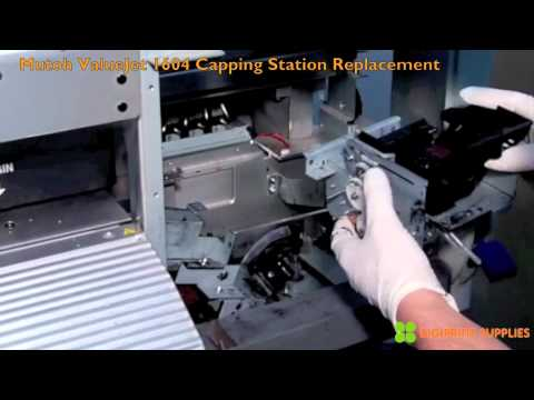Mutoh Valuejet 1604 Capping Station Replacement Youtube