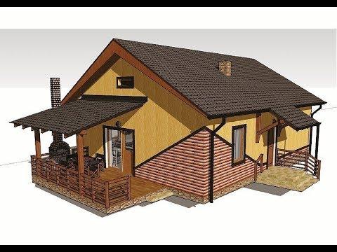Дом за год 9х9 из газоблока своими руками. Фундамент.