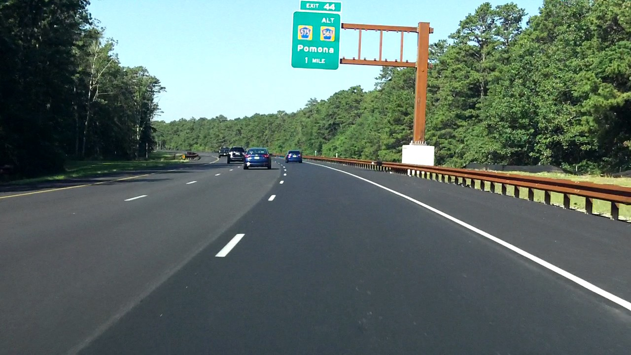Garden State Parkway Exits 48 To 41 Southbound 2016 Construction Update Youtube