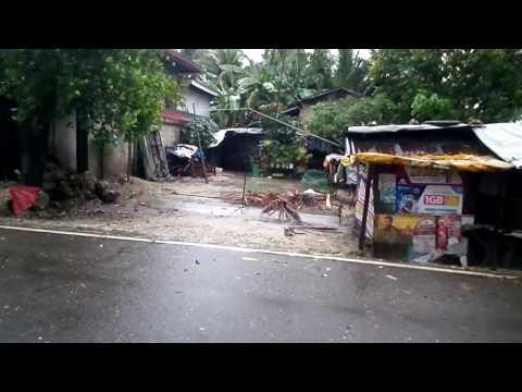 Tangil Dumanjug Cebu Flash flood by Auring HD 2pm 09jan2017