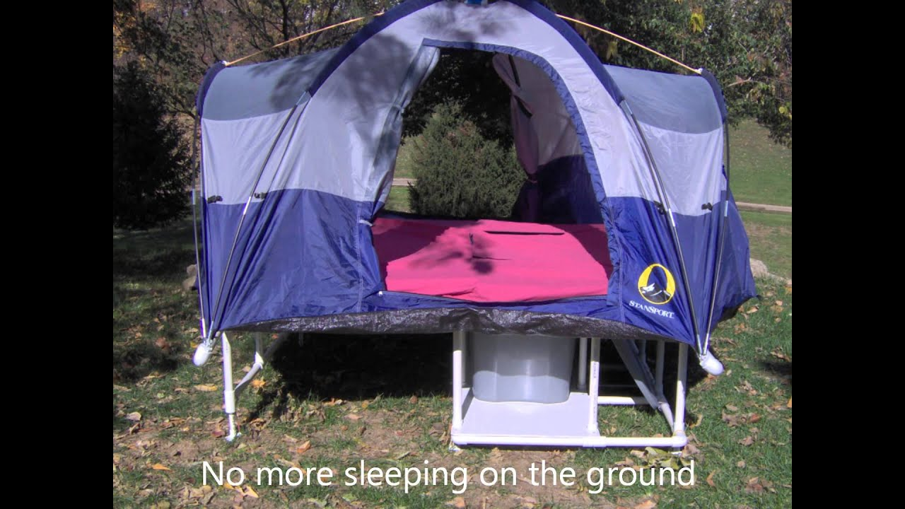 & Bicycle Tent Camper 1 - YouTube