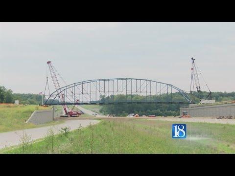 Freedom Bridge installation