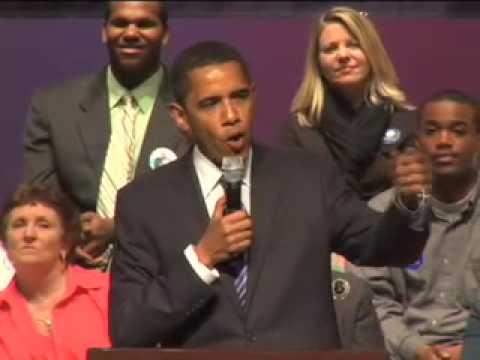 Barack Obama in Greensboro, NC