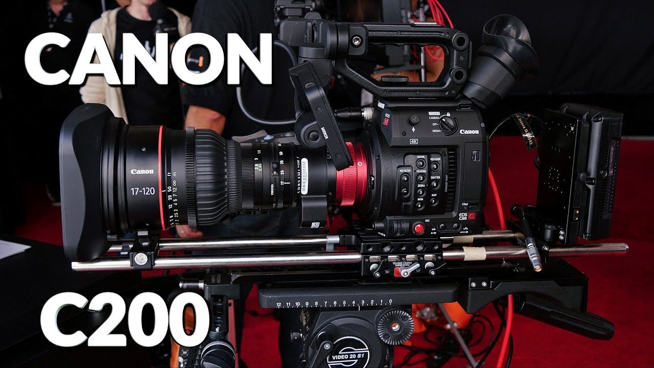 Canon C200 Camera - Personal View Talks