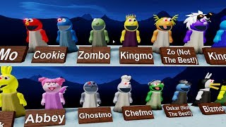 ROBLOX PIGGY PUPPET ALL CHARACTERS