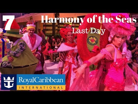 Harmony of the Seas | Western Caribbean Cruise | Day 7 | Last Day