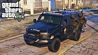 GTA 5 - SWAT TEAM PATROL! LSPDFR Cops Patrol Episode #163 LENCO BEARCAT Mod!