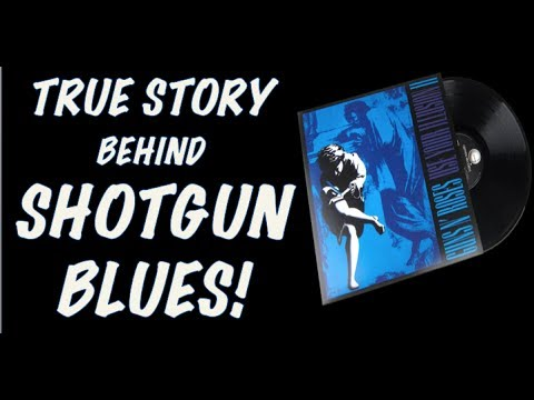Guns N' Roses: The True Story Behind Shotgun Blues (Use Your Illusion 2)! Vince Neil Axl Rose Feud!