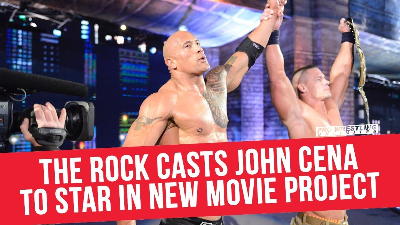 The Rock Casts John Cena To Star In New Movie Project