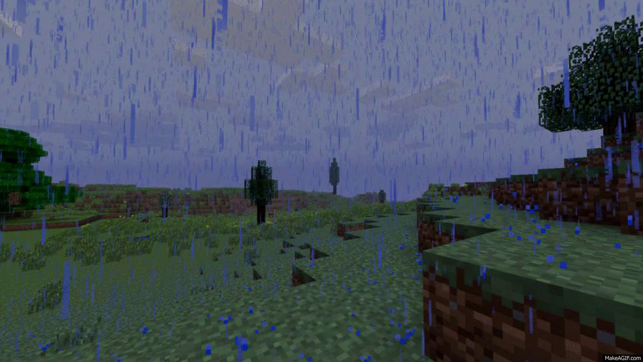 майнкрафт мод когда дождь #8