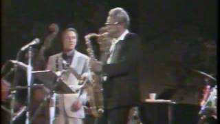 CHICAGO JAZZ FEST 1985: Charlie Rouse, Clark Terry, Buddy DeFranco