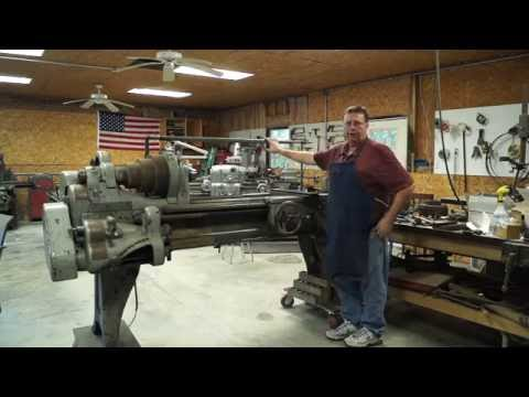 1916 Pratt & Whitney Lathe Restoration Part 1