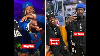 Quando Rondo crew will use SELF DEFENSE to Justify Lil Tim shooting King Von. Claimed Von started it