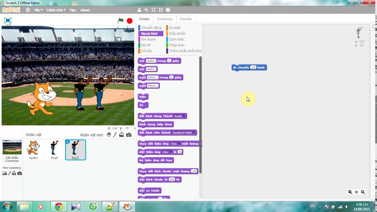[Scratch] Hướng dẫn cài đặt và sử dụng Scratch ( User Guide)