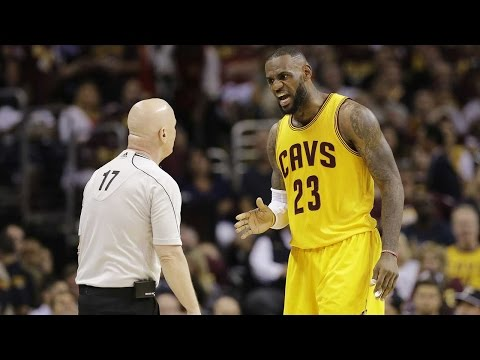 "LeBron YELLS at Referee Over Foul: ""Call That Sh*t the First Time, Motherf***er!"""