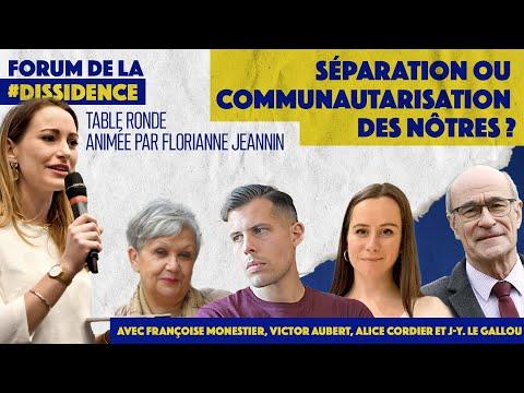 🟠 Table ronde #Polemia : séparation ou communautarisation des nôtres ?