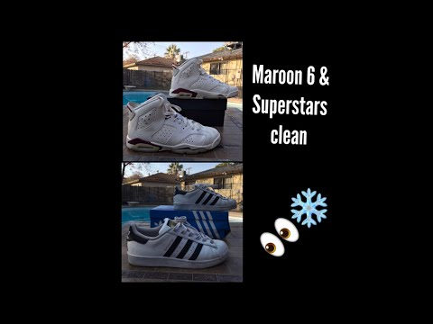 Adidas Superstars/Maroon 6 Deep Clean