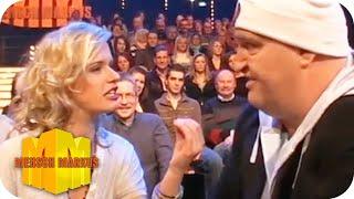 Sven Dudek trifft eine Ballerina