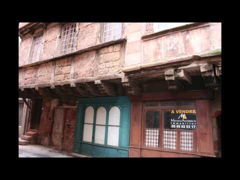 Marcillac Vallon Concertation pour l'aménagement du centre ancien