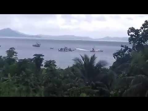 המטוס החטיא את המסלול ב-135 מטר ונחת אל מי האוקיינוס