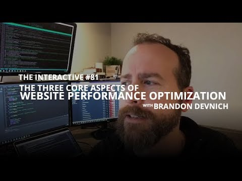 The Three Core Aspects of Website Performance Optimization