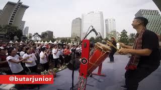 Anak Medan - Live Ada Danau Toba di Car Free Day Jakarta Azwin Harefa ft Hamonangan Butarbutar