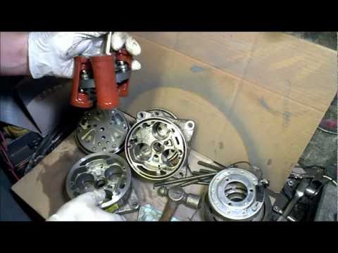 AC compressor take apart How it Works tear down air conditioner