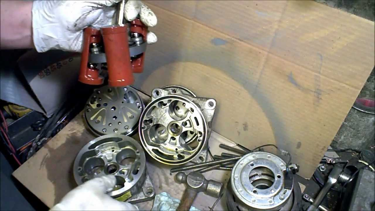 Rebuilt Auto Ac Compressors >> Ac Compressor Take Apart How It Works Tear Down Air Conditioner