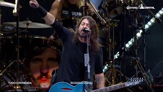 Corona Capital 2017. Foo Fighters, tributo a Malcolm Young (AC/DC).