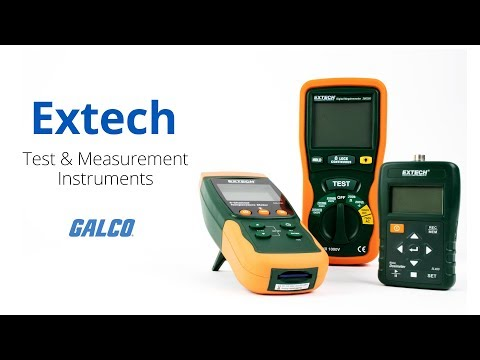 Extech - Test and Measurement Instruments