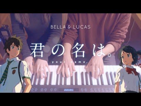 Kimi no Nawa OST - Yumetourou (4Hands piano)