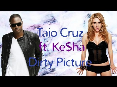 Taio Cruz - Dirty Picture ft. Ke$ha (lyrics on screen)