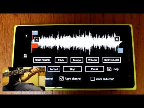 Music Speed Changer App for Windows Phone 8