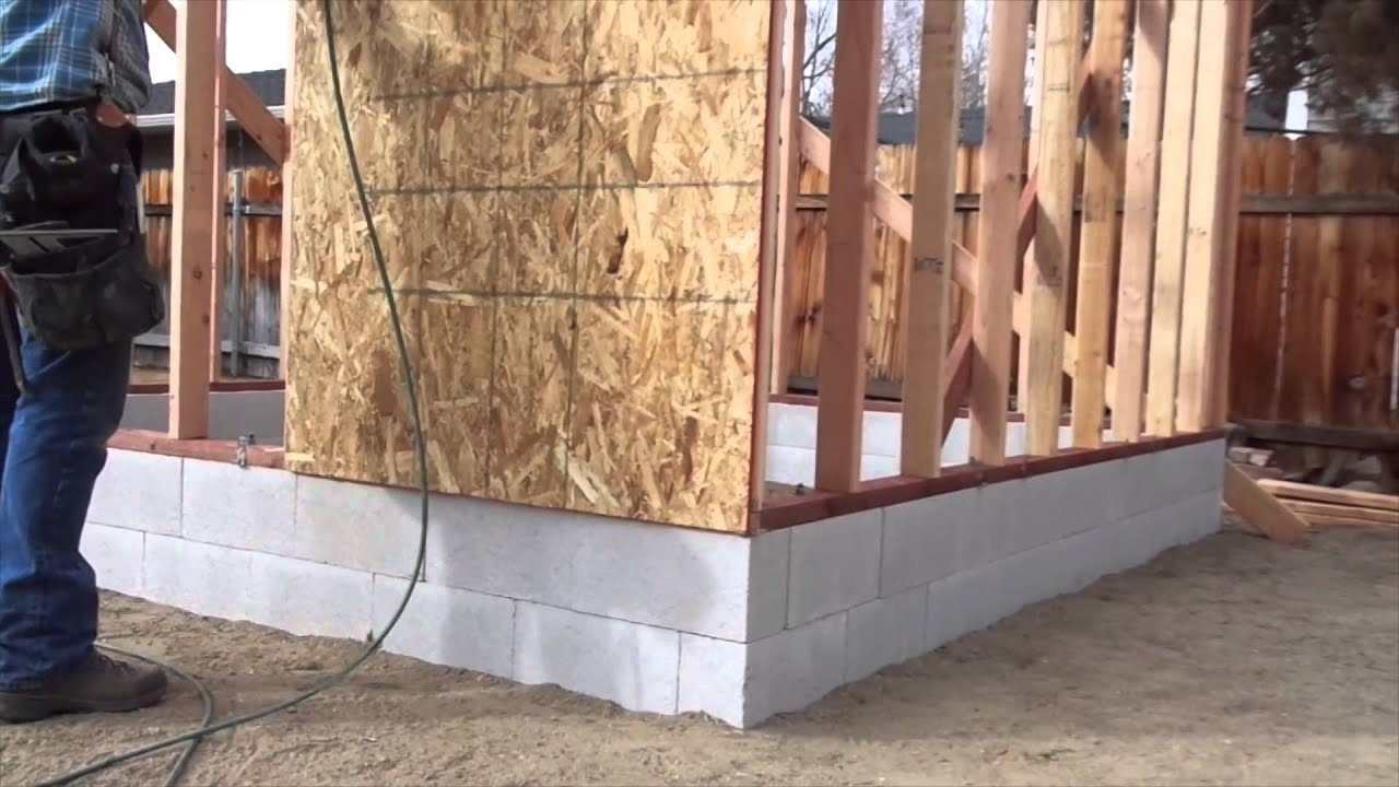 To Install Osb Wall Sheathing Or Panels