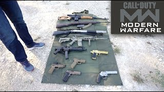 Call of Duty Modern Warfare Guns In Real Life!