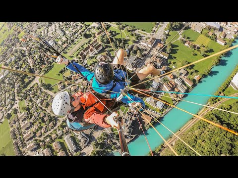 Paragliding Interlaken, Hiking, and Funky Chocolate - A Very Swiss Day!